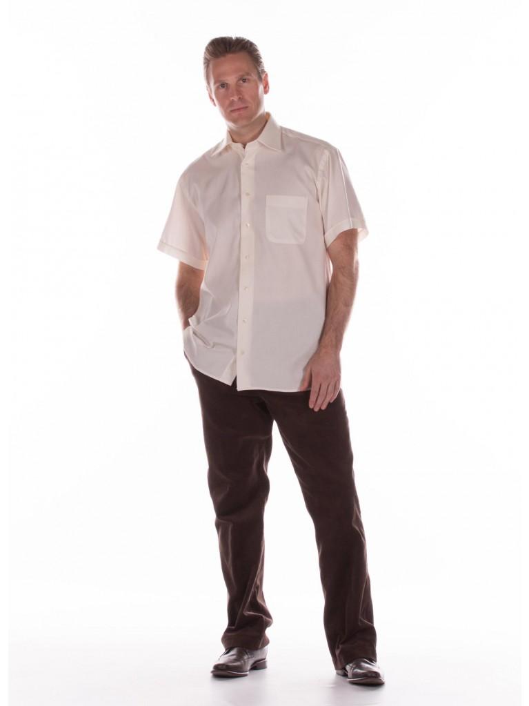 7256 Overhemd met korte mouwen