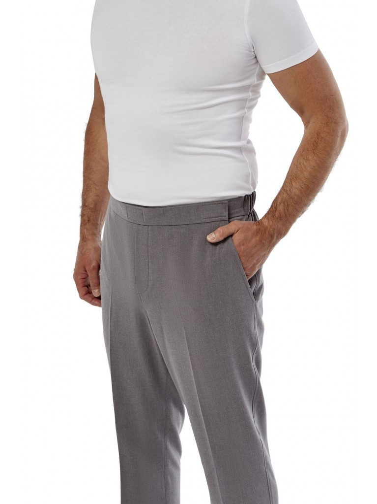 7172 Heren pantalon met klepje