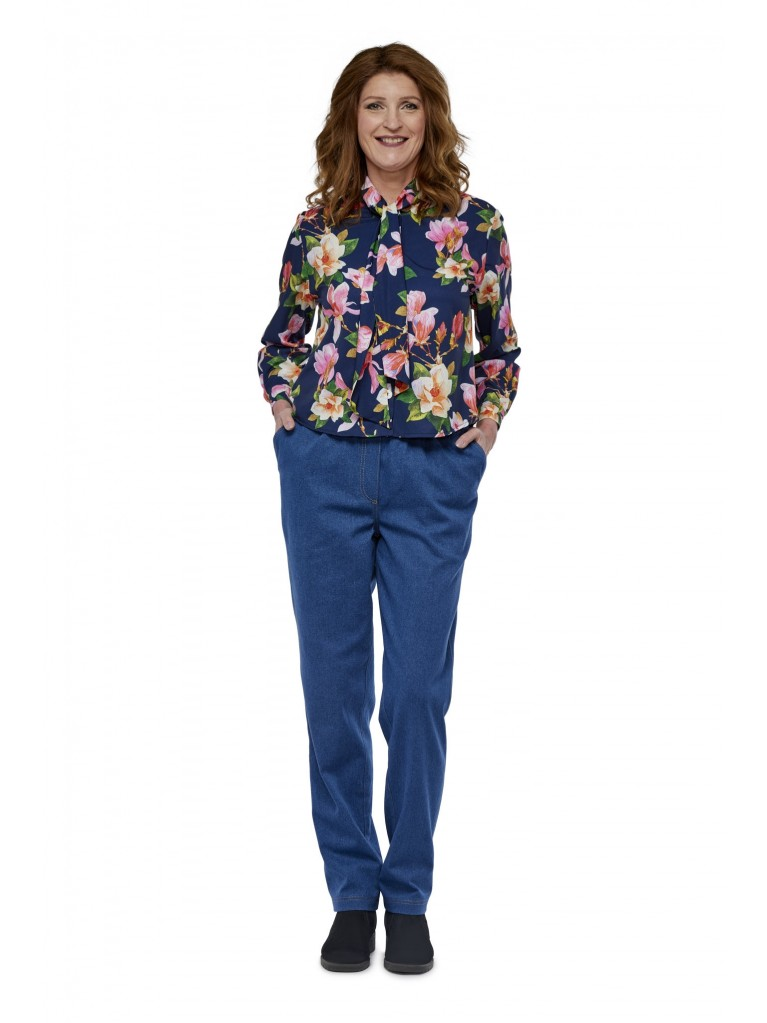 7248 Dames blouse lange mouwen