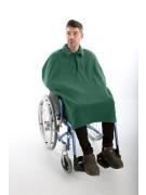 Rolstoel poncho fleece