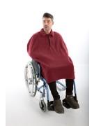 poncho rolstoelgebruiker