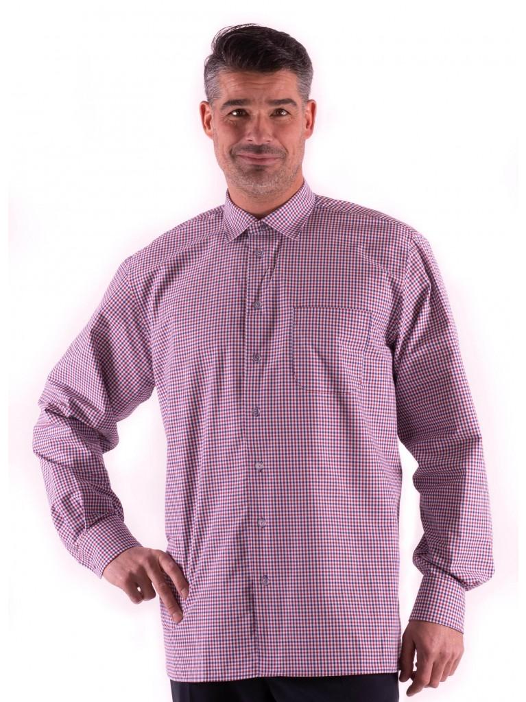 7255 Herren-Hemd mit langem Arm