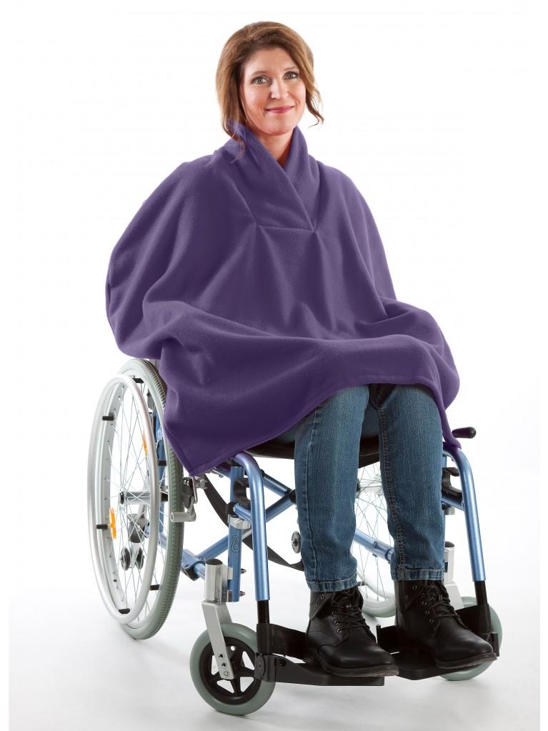 7387 Fleece Cape ohne Arm