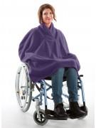 Fleece Rollstuhl