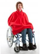 Fleece Rollstuhl Cape