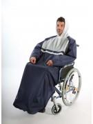 Regenponcho für Rollstuhlfahrer