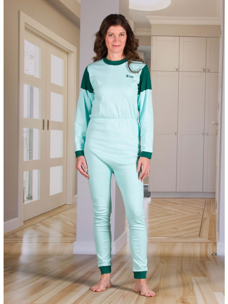 1030 Jersey jumpsuit with zipper closure