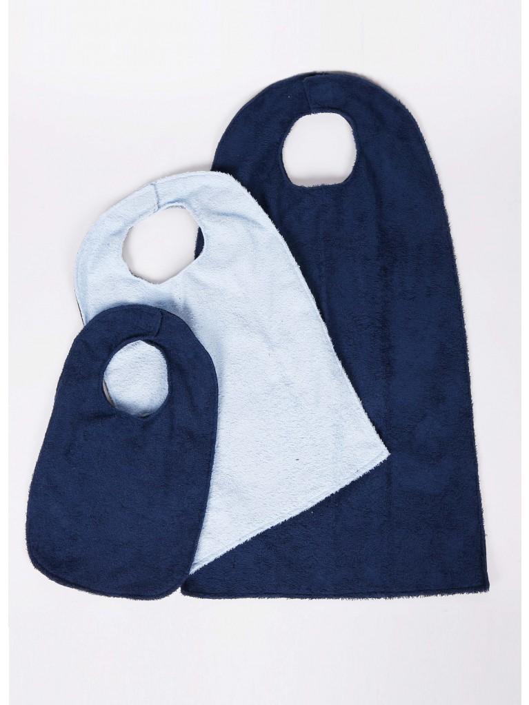 6110 Waterproof Terry cloth bibs
