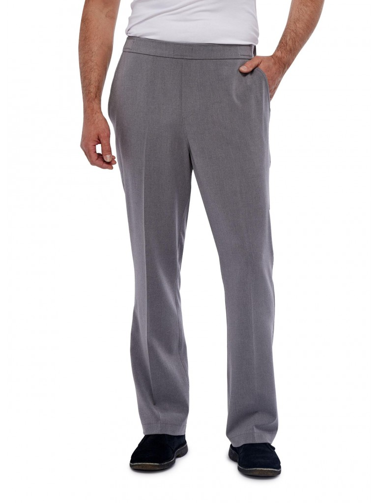 7172 Trousers with flap closure