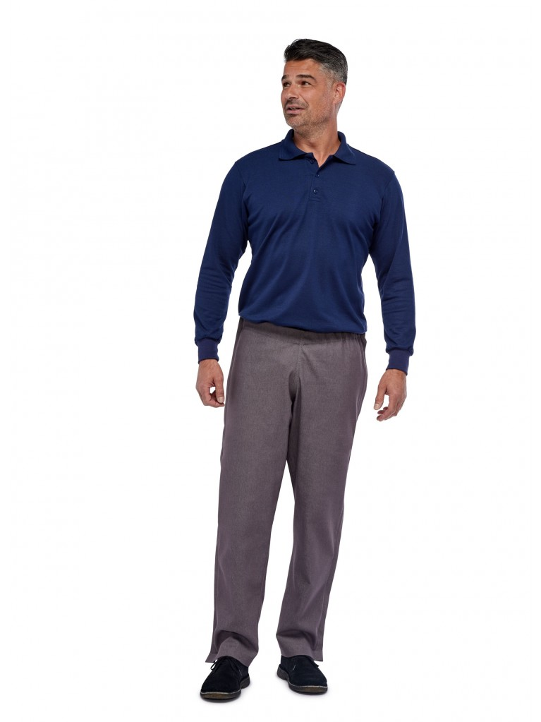 7174 Trousers two side zippers