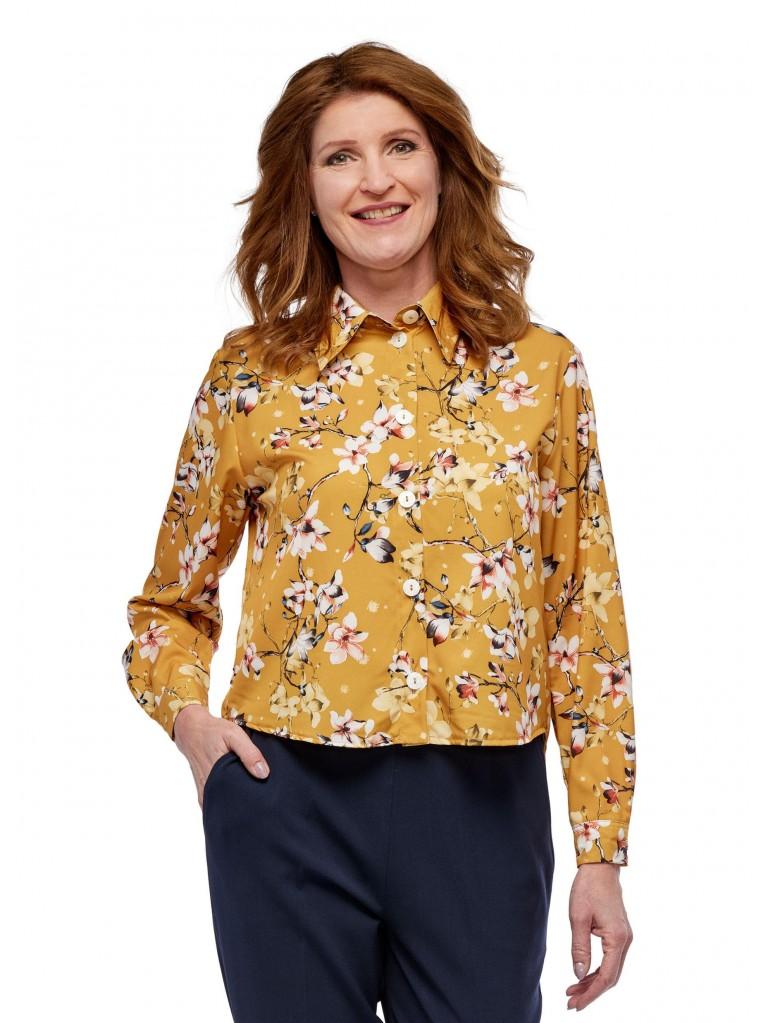 7250 Ladies long sleeved blouse