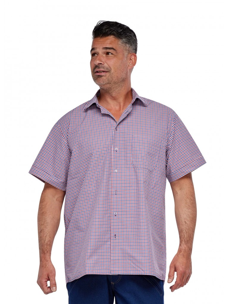 7256 Men's shirt button closure