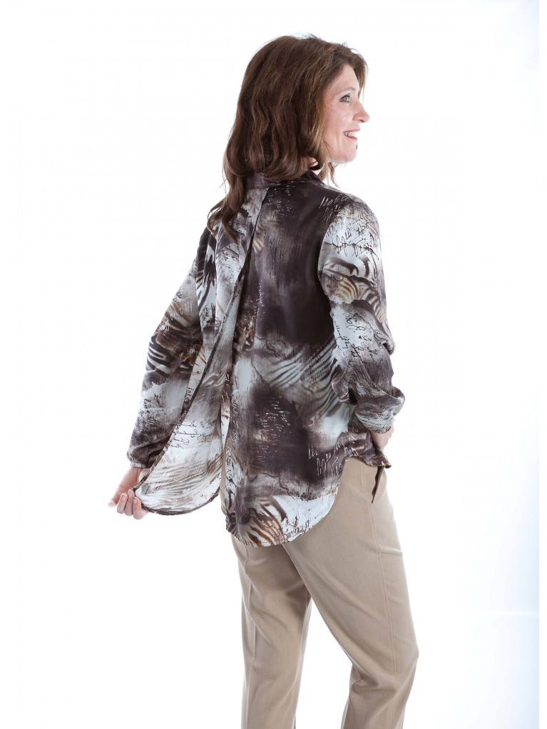 7263 Adaptive women's blouse