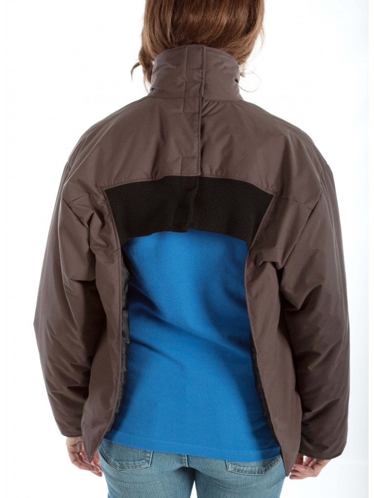7310 Full zip winter short coat