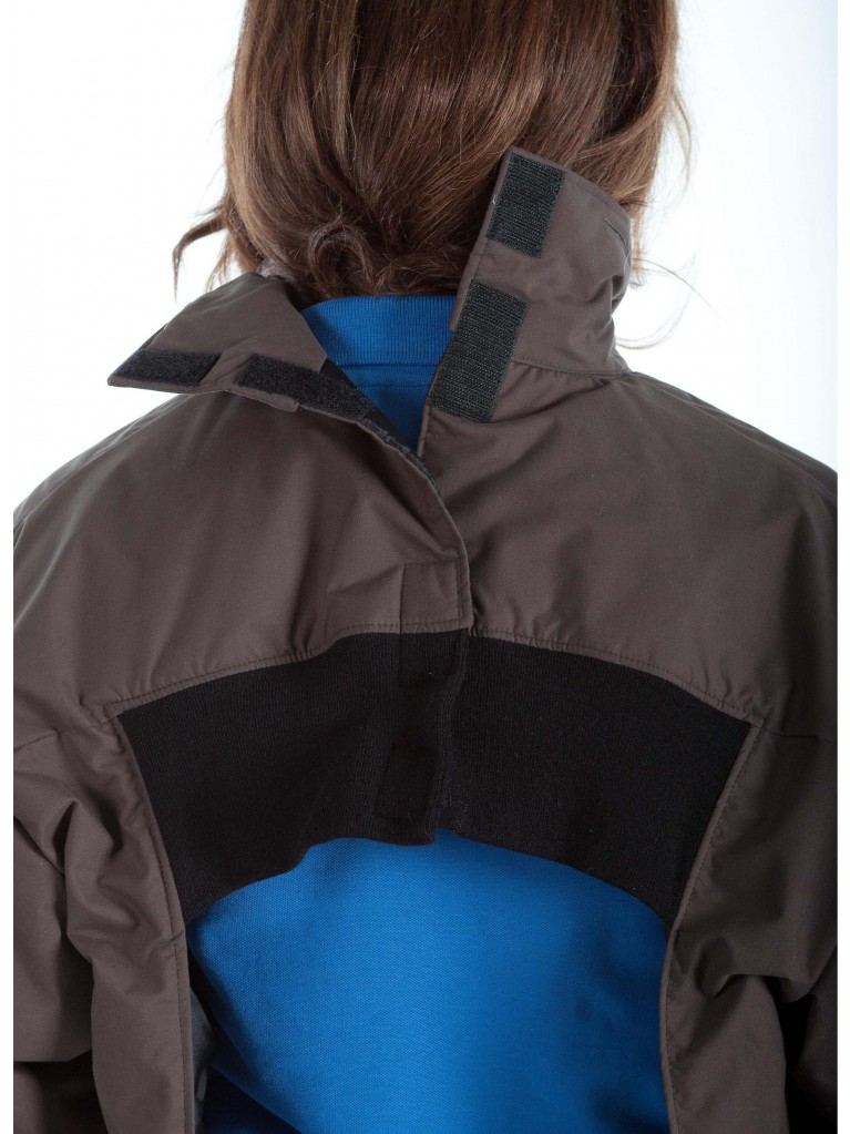 7310 Full zip winter short coat