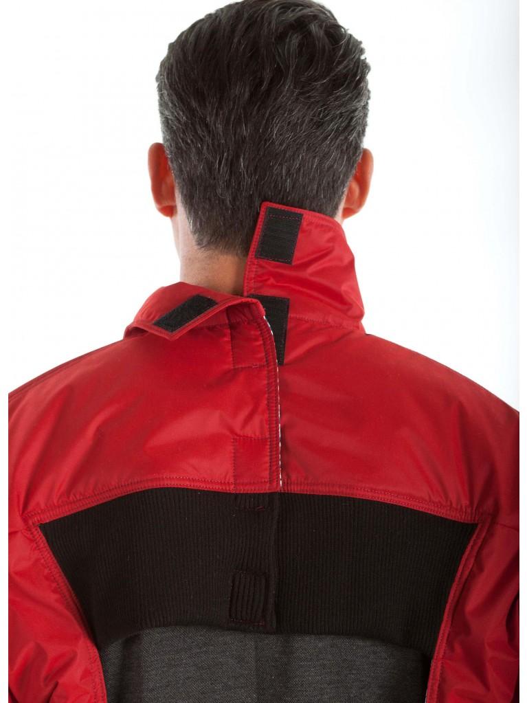7320 Full zip summer short coat