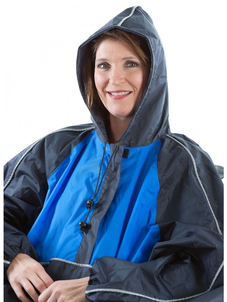 7361 Rain cape fully enclosed