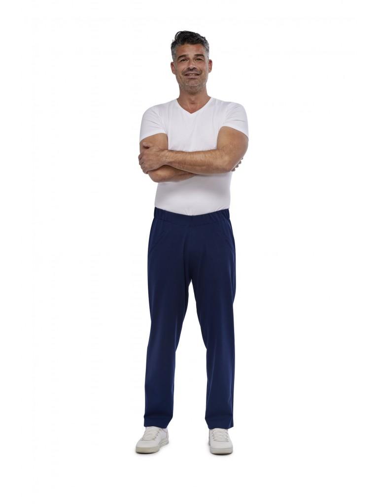 7177 Stretch pants double zipper