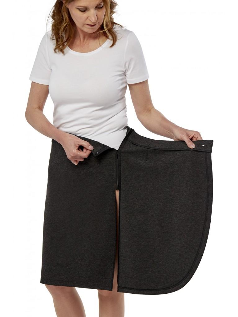 7245 Adaptive wrap around skirt