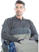 Leg cover wheelchair
