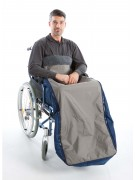 Waterproof wheelchair leg cover